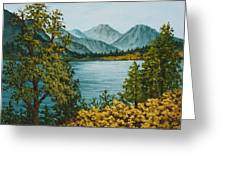 Frenchmans Lake Greeting Card