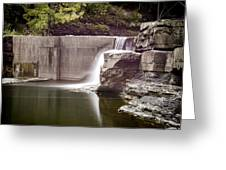 Frenchs Hollow Falls Greeting Card