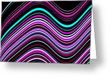Frequencies 1 Greeting Card