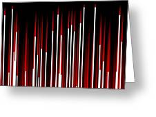 Frequency Red Greeting Card