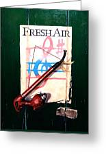Fresh Air Greeting Card
