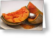 Fresh Cantaloupe Greeting Card