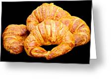 Fresh Croissants Greeting Card