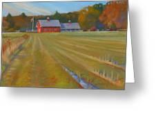 Fresh Cut Adams Farm Greeting Card