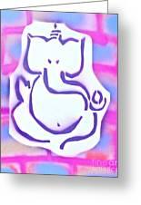 Fresh Ganesh 3 Greeting Card by Tony B Conscious