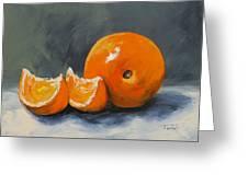Fresh Orange IIi Greeting Card by Torrie Smiley