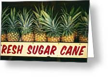 Fresh Sugar Cane Greeting Card