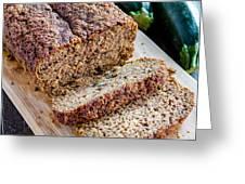 Fresh Zucchini Bread Greeting Card