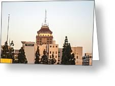 Fresno Security Bank Building Greeting Card