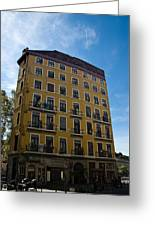 Fresque In Lyon Greeting Card