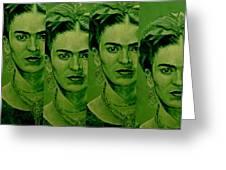 Frida 4u Greeting Card