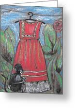 Frida Homage II Greeting Card