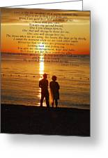 Friend For Life Poem Greeting Card