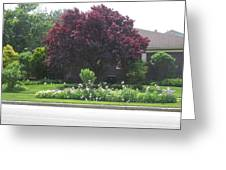 Friendly Green Gardens Of Cherryhill Nj America       Greeting Card
