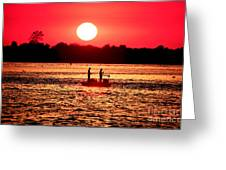 Friends At Long Beach Island Greeting Card