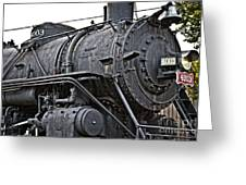 Frisco Train Locamotive One Greeting Card