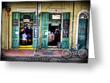Fritzels Bar On Bourbon Street Greeting Card