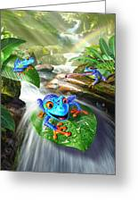 Frog Capades Greeting Card