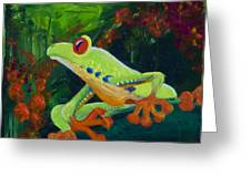 Frog Heaven Greeting Card