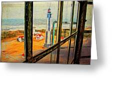 From Cape Henry Lighthouse Greeting Card