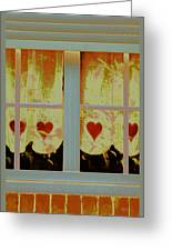 From French Riviera Window With Love Greeting Card