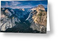 From Glacier Point Greeting Card