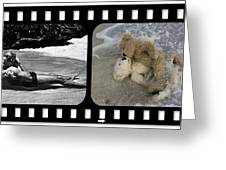 From Here To Eternity Film Strip Greeting Card by William Patrick