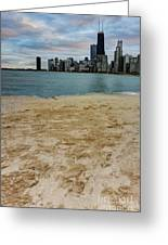 From North Avenue Beach Greeting Card