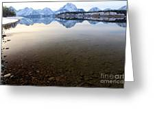 From Pebbles To Mountains Greeting Card