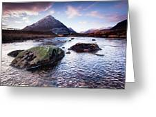 From River To Bauchaille Greeting Card