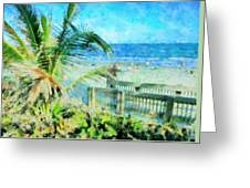 From The Boardwalk Greeting Card