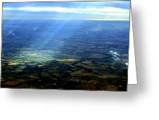 From The Sky 1 Greeting Card by Maxwell Amaro