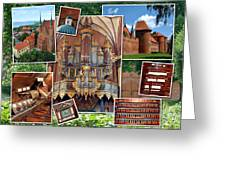 Frombork Montage Greeting Card