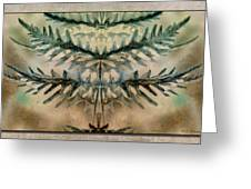 Frond Embrace Greeting Card