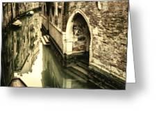 Front Door In Venice Greeting Card