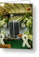 Front Of '36 Packard Greeting Card
