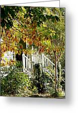 Front Porch Color Greeting Card