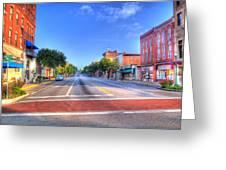 Front Street Marietta Greeting Card