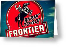 Frontier Land Greeting Card