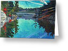 Frood Lake Outlet Greeting Card