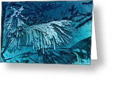 Frost Needles 2 Greeting Card