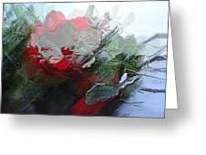Frosted Hibiscus 2 Greeting Card