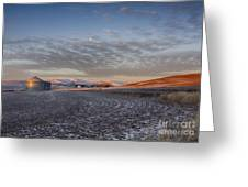 Frosted Palouse Greeting Card