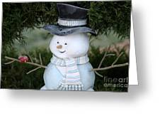 Frosty Greeting Card