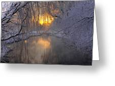 Frosty Morn 2 Greeting Card