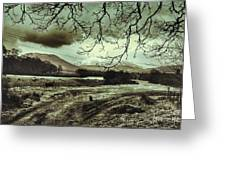 Frosty Morning At Glen'orchey   Greeting Card