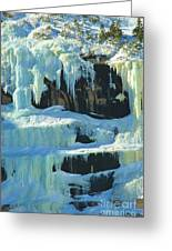 Frozen Artwork Greeting Card