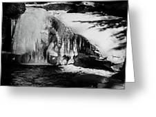 Frozen Basin Greeting Card