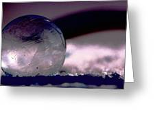 Frozen Bubble Greeting Card