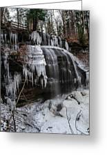 Frozen Buttermilk Falls Greeting Card